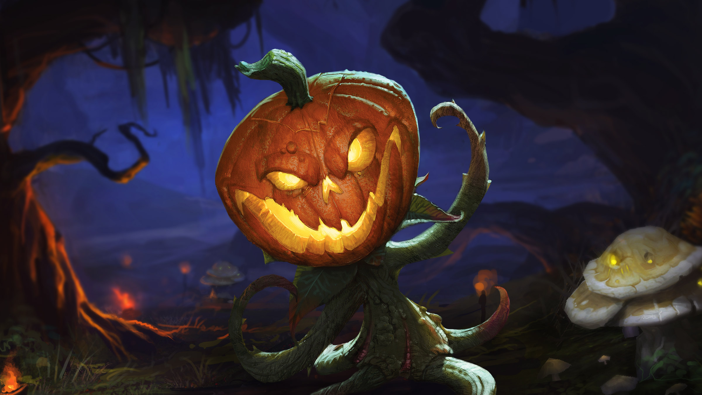 2018 Halloween Pumpkin Carving Contest