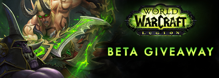 Legion Beta Key Giveaway