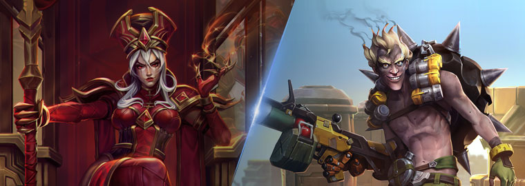 Coming Soon to PTR: Junkrat and Whitemane Hero Reworks