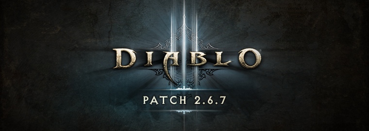 O patch 2.6.7 de Diablo III está no ar!