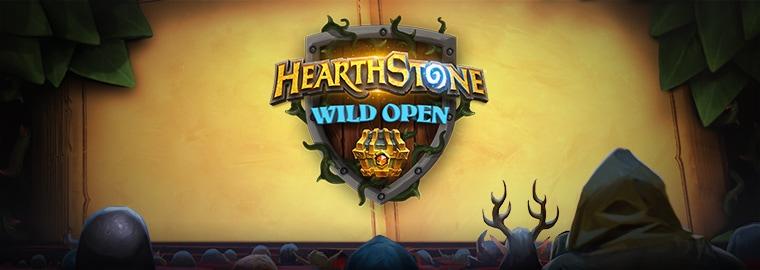 ハースストーン ワイルドオープンを観戦しよう!