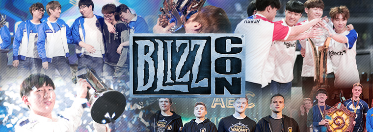 Esports Victors Rise at BlizzCon