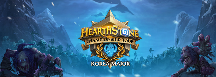 Jogue no primeiro Major de Hearthstone da Coreia do Sul!