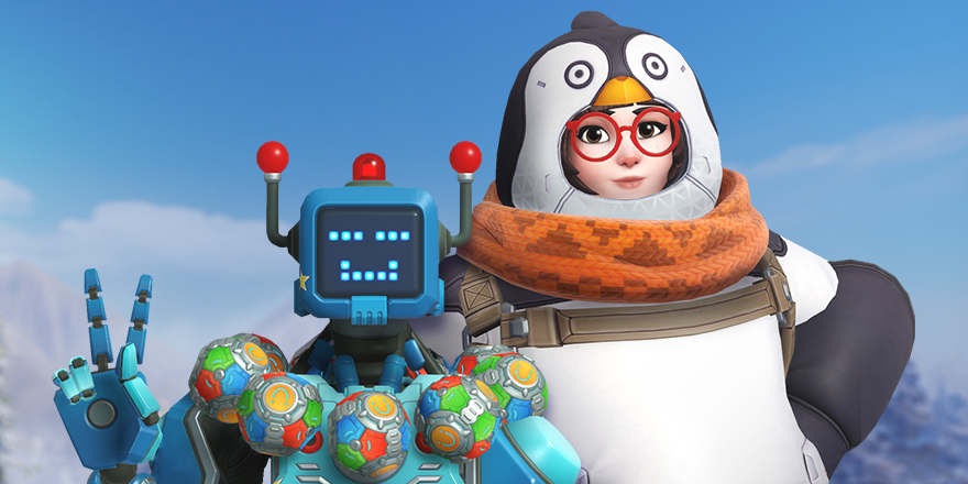 Snow Much Fun: Behind Penguin Mei and Toybot Zenyatta