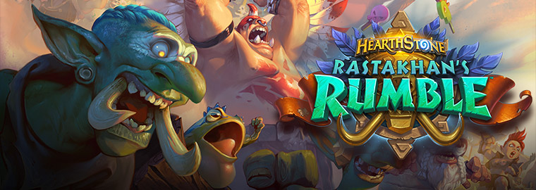 Rastakhan's Rumble: Show Your Team Spirit