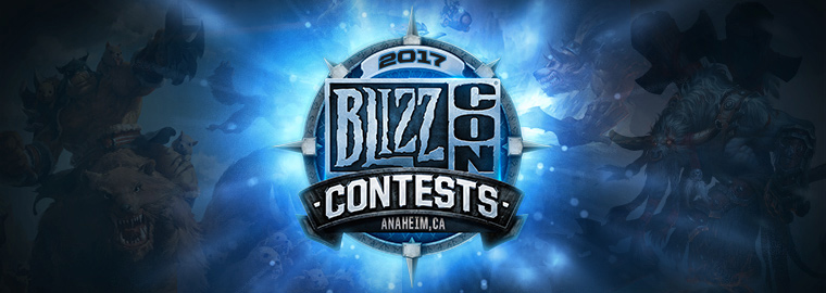 BlizzCon 2017 Contest Winners - BlizzCon 2019
