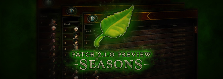Patch 2.1.0 Preview: Seasons