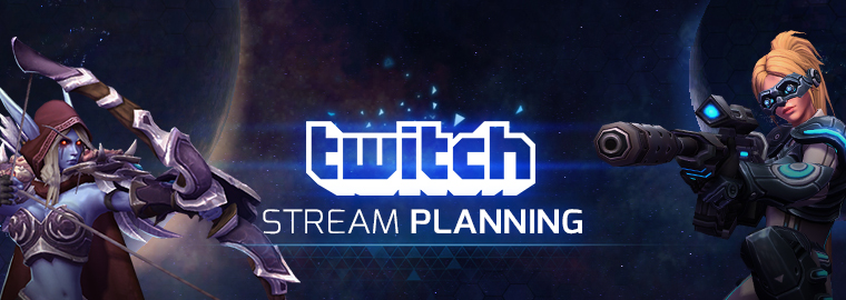 Twitch Streaming Schedule