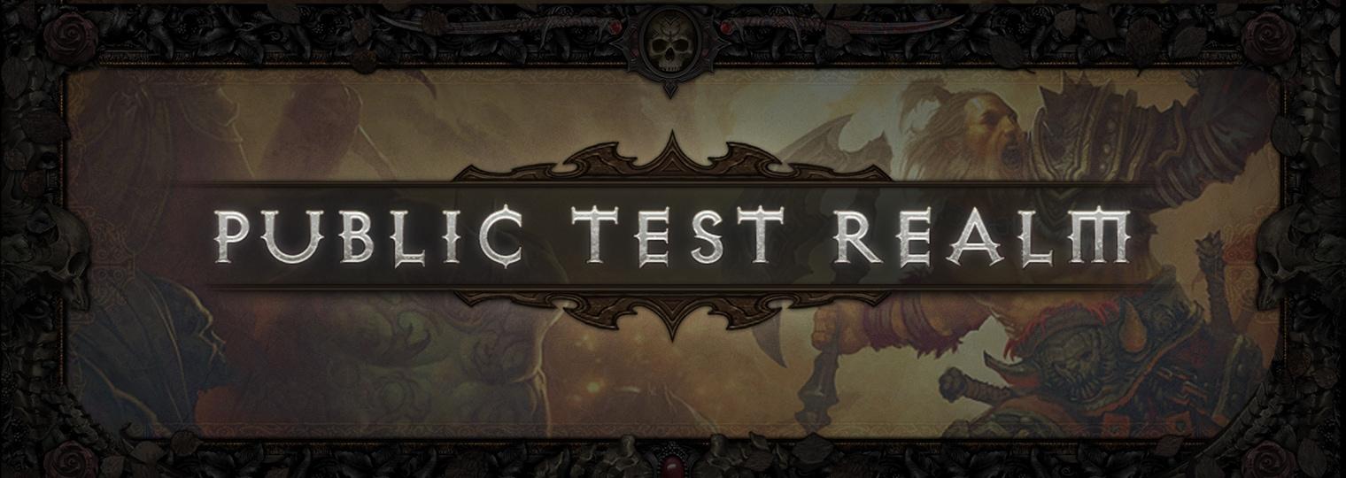DIABLO III PTR 2.7.1 | Preview Blog