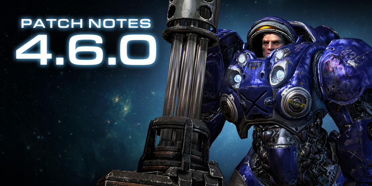 StarCraft II 4.6.0 Patch Notes