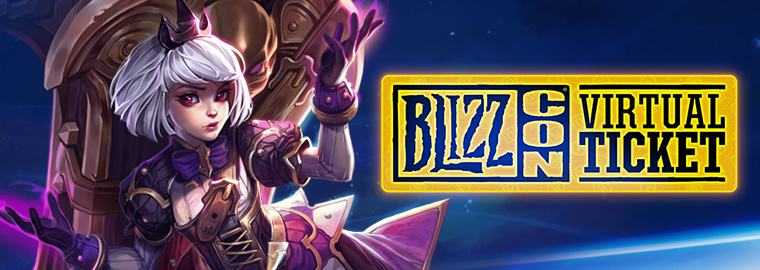 Desbloqueie Orféa com o Ingresso Virtual da BlizzCon!