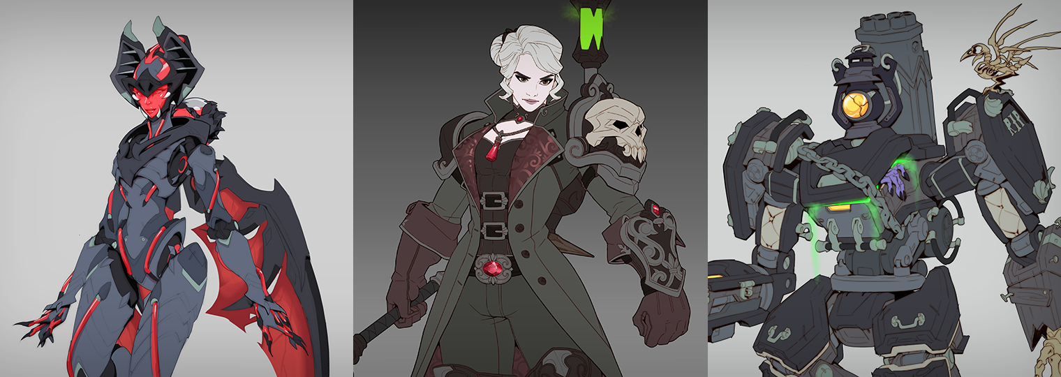 A monstrous mash: Behind the latest Halloween Terror skins