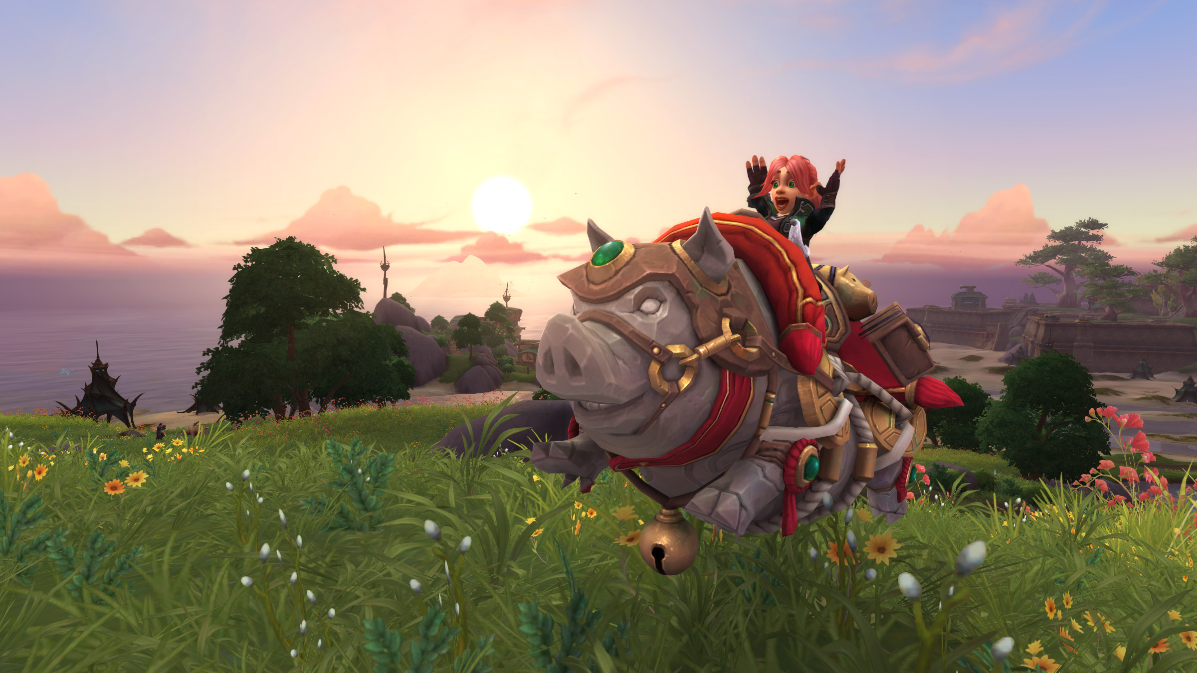 New Mount: Hogrus, Swine of Good Fortune!