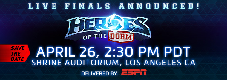 Heroes of the Dorm: Grand Finals Event Details