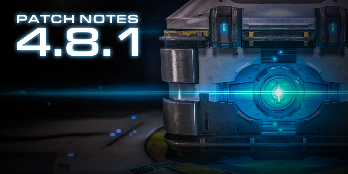 StarCraft II 4.8.1 Patch Notes