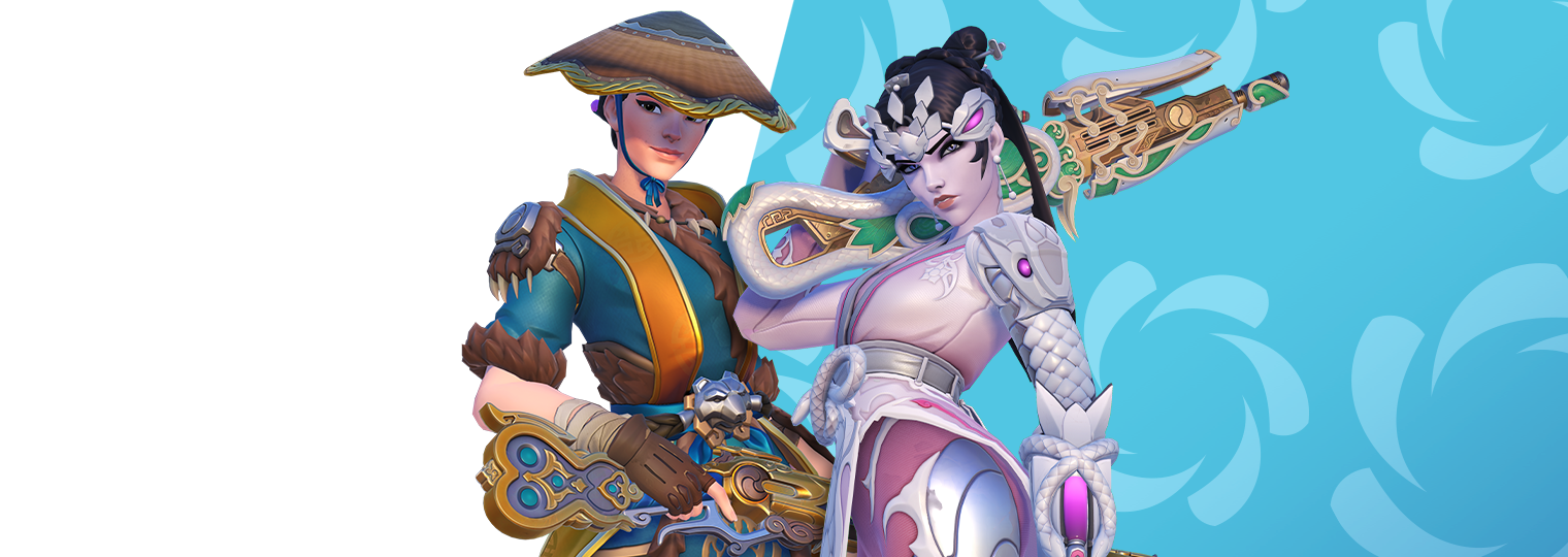A beast of a time: Behind Tiger Huntress Ashe and Pale Serpent Widowmaker