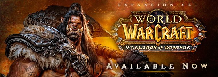 Warlords of Draenor™ Unleashed – Expansion Now Live!