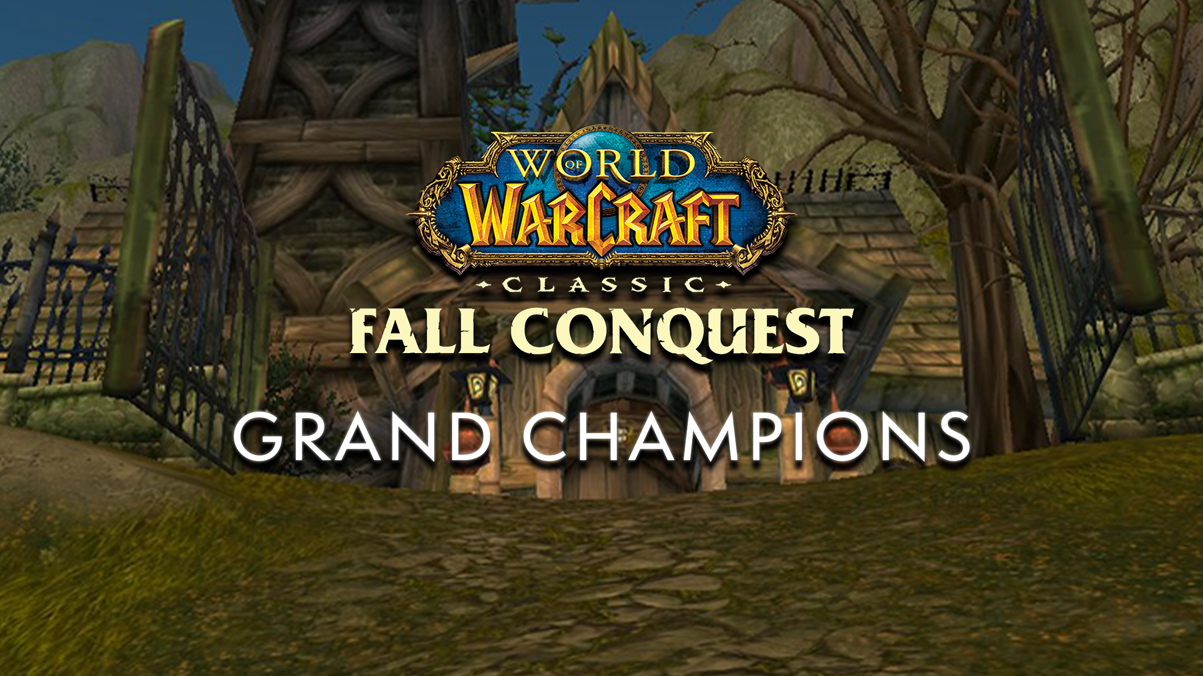 Meet the WoW Classic Fall Conquest Regional Champions!
