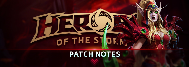 Heroes of the Storm Patch Notes — January 24, 2017