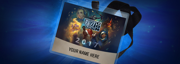 BlizzCon 2017 Badge Pickup and Store Hours