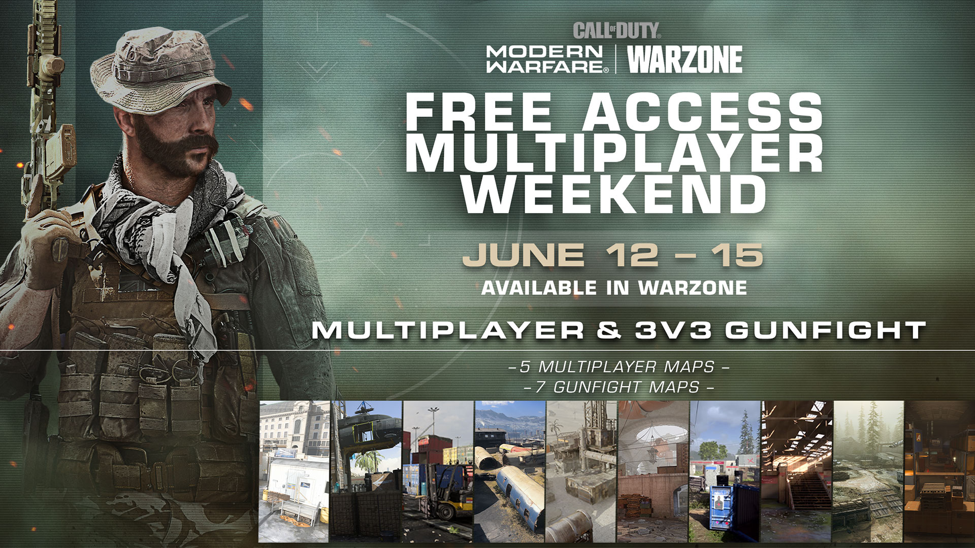 Check Out Modern Warfare Multiplayer and Gunfight during the Multiplayer Free Access Weekend