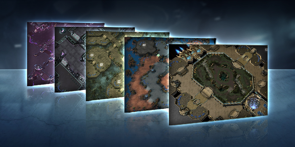 New Ladder Maps for 2017 Season 4