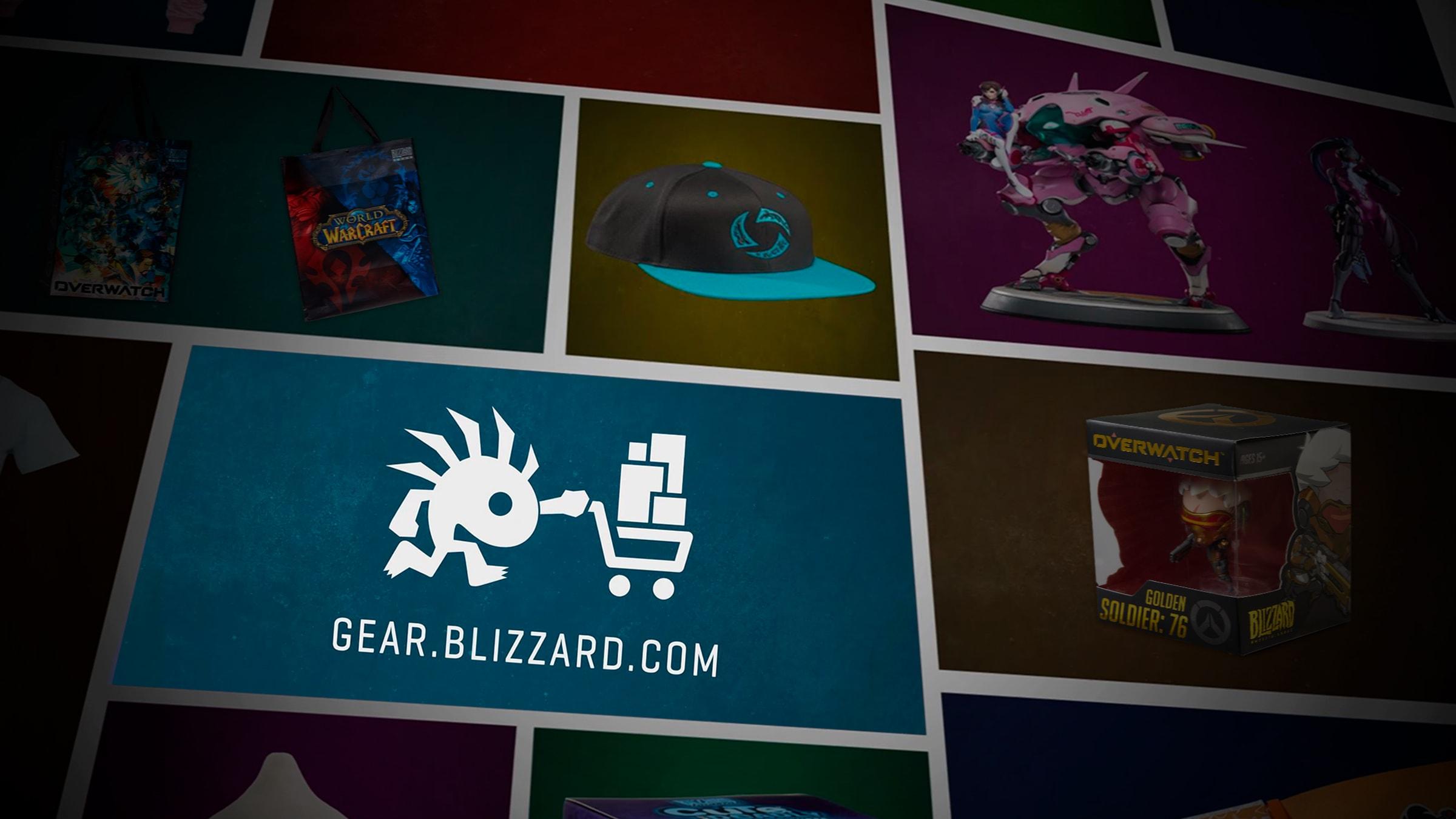Blizzard Entertainment на gamescom 2017 — мерчендайз