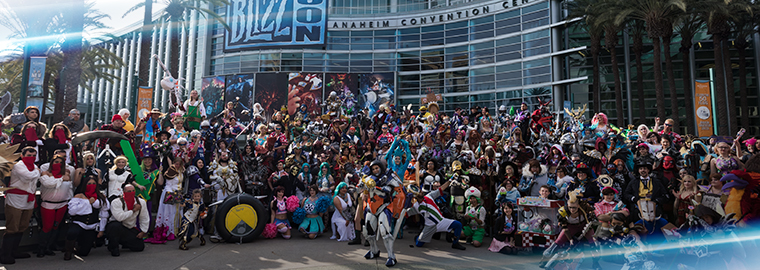 Cosplayers—Band Together for the 2018 Group Cosplay Photo ...