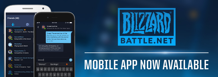 Blizzard Battle.net Mobile App Now Available!