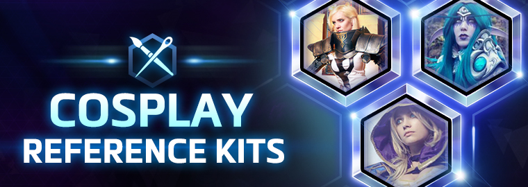 Introducing: Cosplay Reference Kits