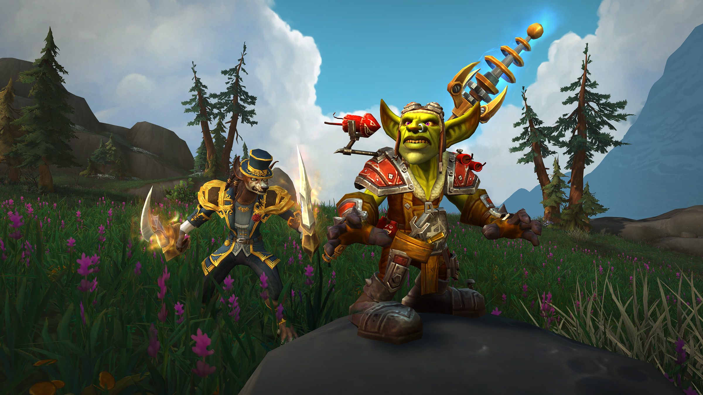 Show Your Pride with New Goblin and Worgen Heritage Armor