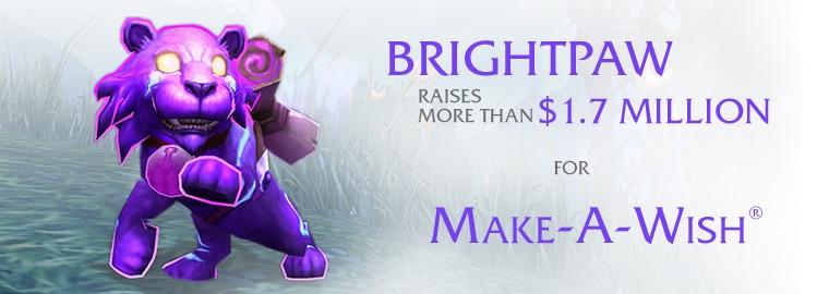 Brightpaw sales raise $1.7 million for Make-a-Wish