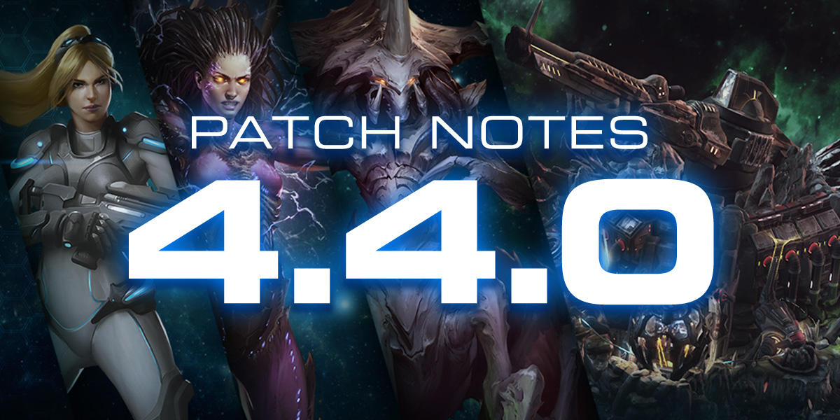 StarCraft II 4.4.0 Patch Notes