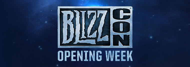 Attend BlizzCon® Opening Week In Person! Tickets On Sale Now