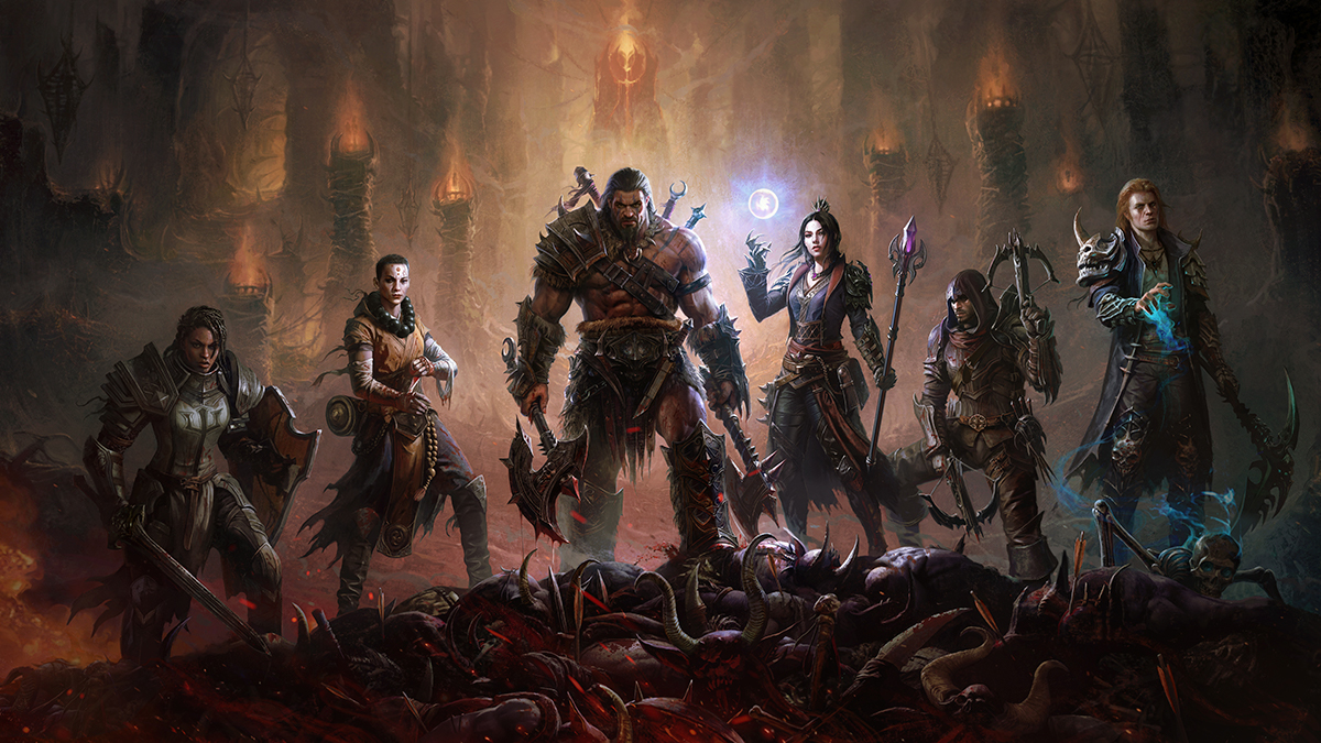 Character and Skill Progression in Diablo Immortal