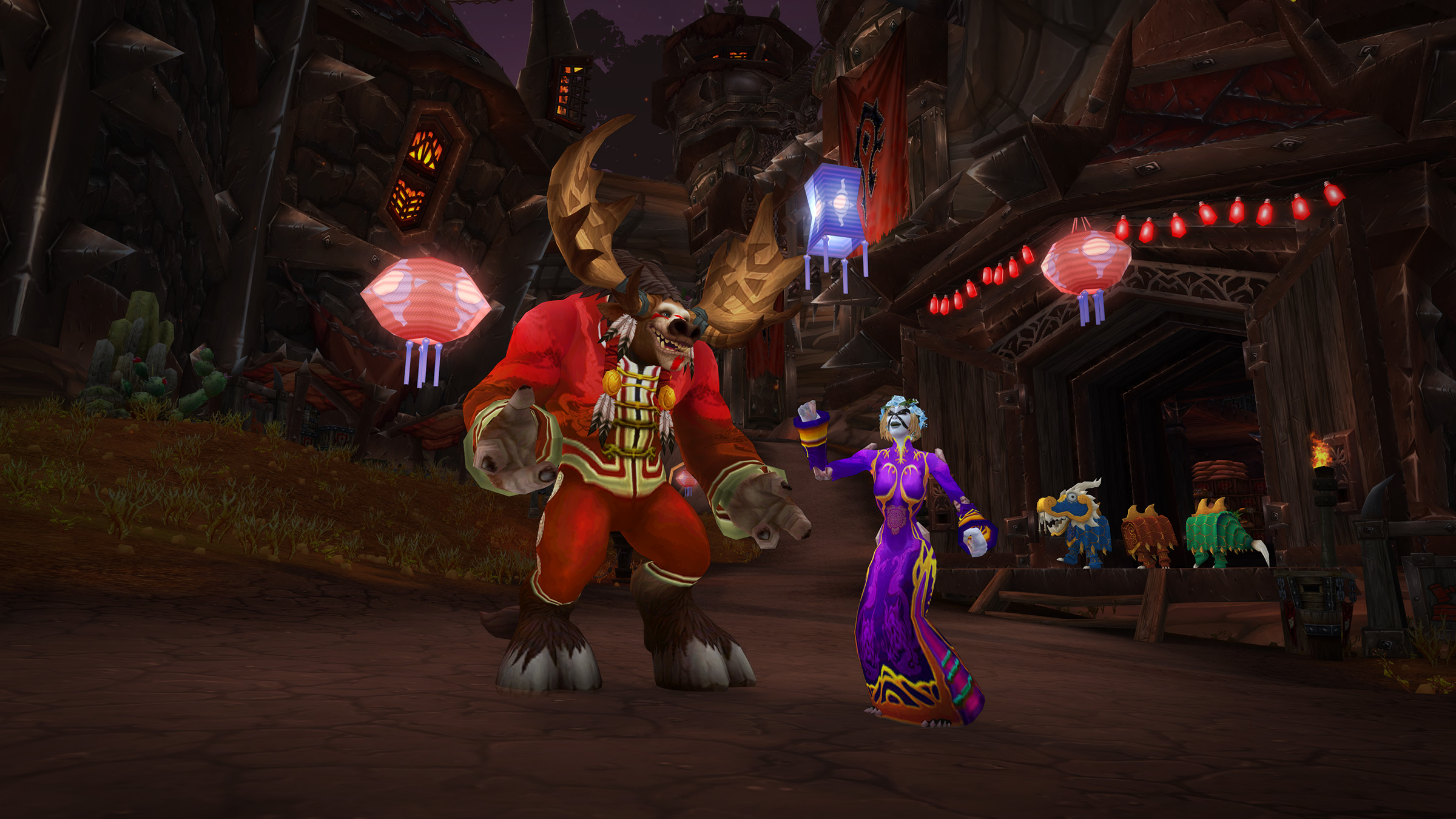 Join the Celebration and Honor the Elders During Lunar Festival!