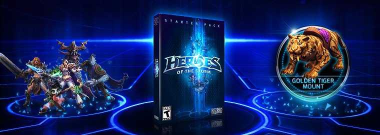 Get Going in Heroes of the Storm with the Starter Pack