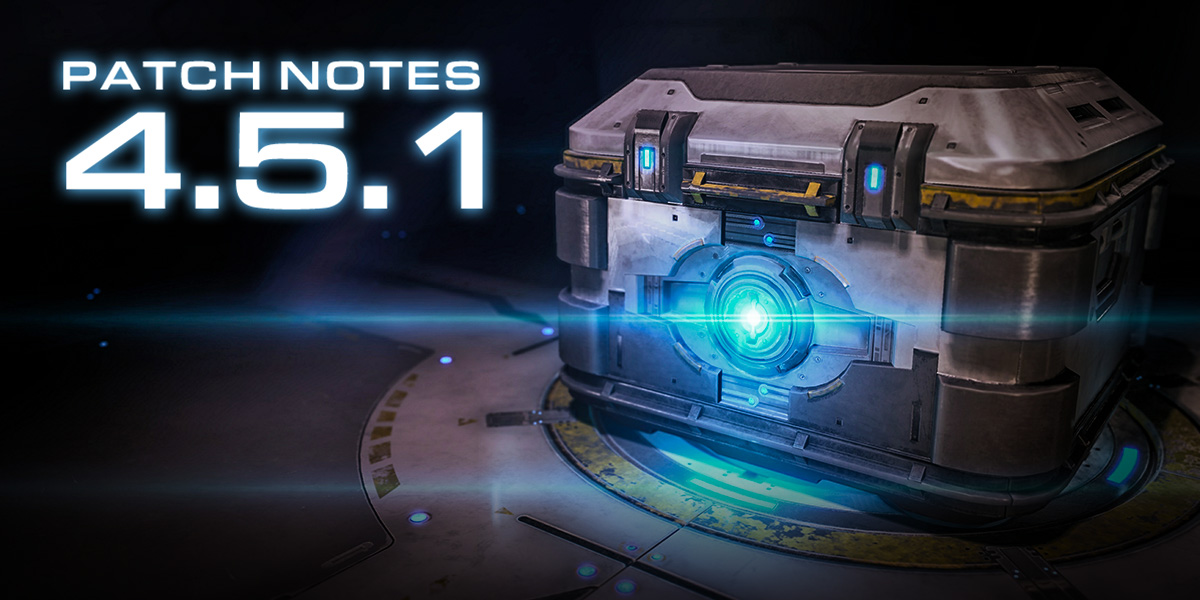 StarCraft II 4.5.1 Patch Notes
