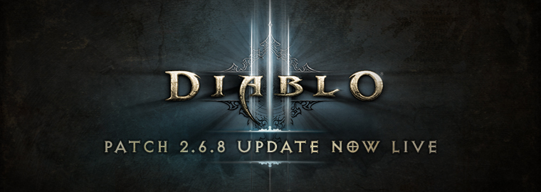 O patch 2.6.8 está no ar