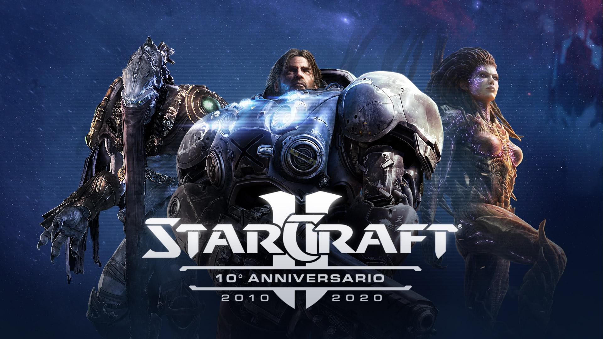 StarCraft II compie 10 anni - Festeggia con noi!