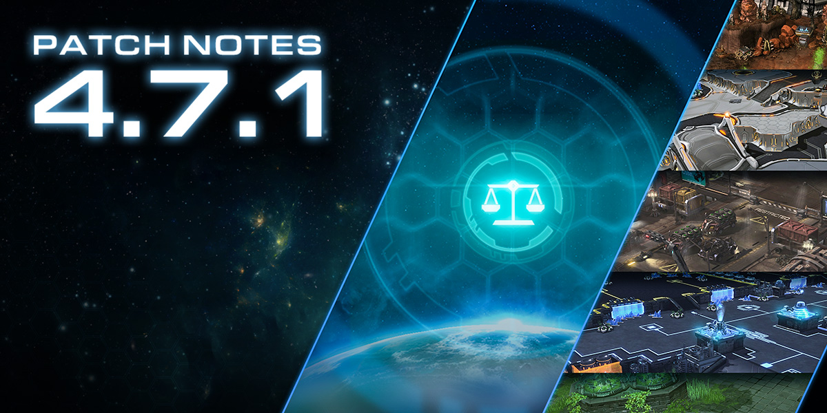 StarCraft II 4.7.1 Patch Notes