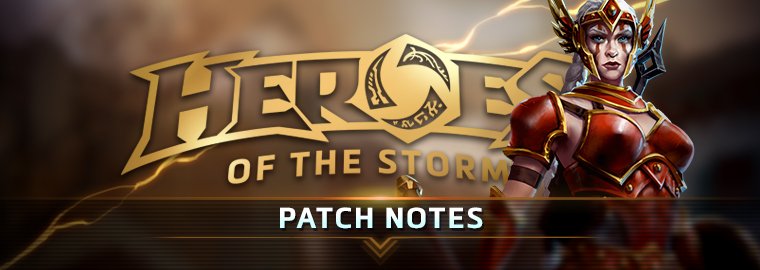 HEROES OF THE STORM PATCH NOTES - April 4, 2017