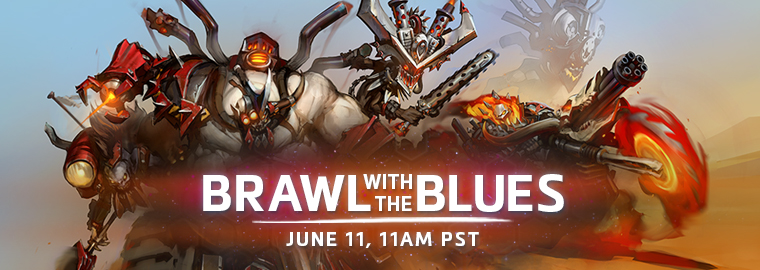 Brawl with the Blues: Raiders of Warchrome