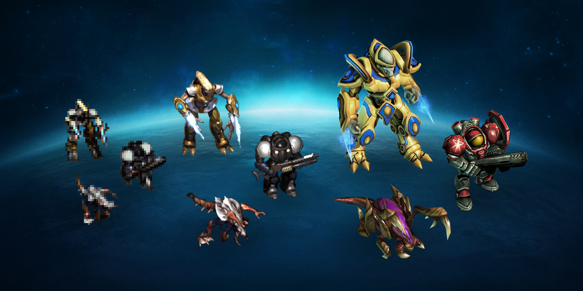 Evolution Complete: Reimagining Classic StarCraft Units for StarCraft II
