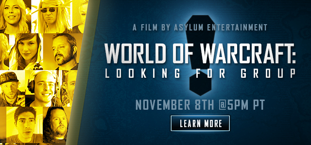 World of Warcraft®: Looking for Group – Documentary Premiere at BlizzCon