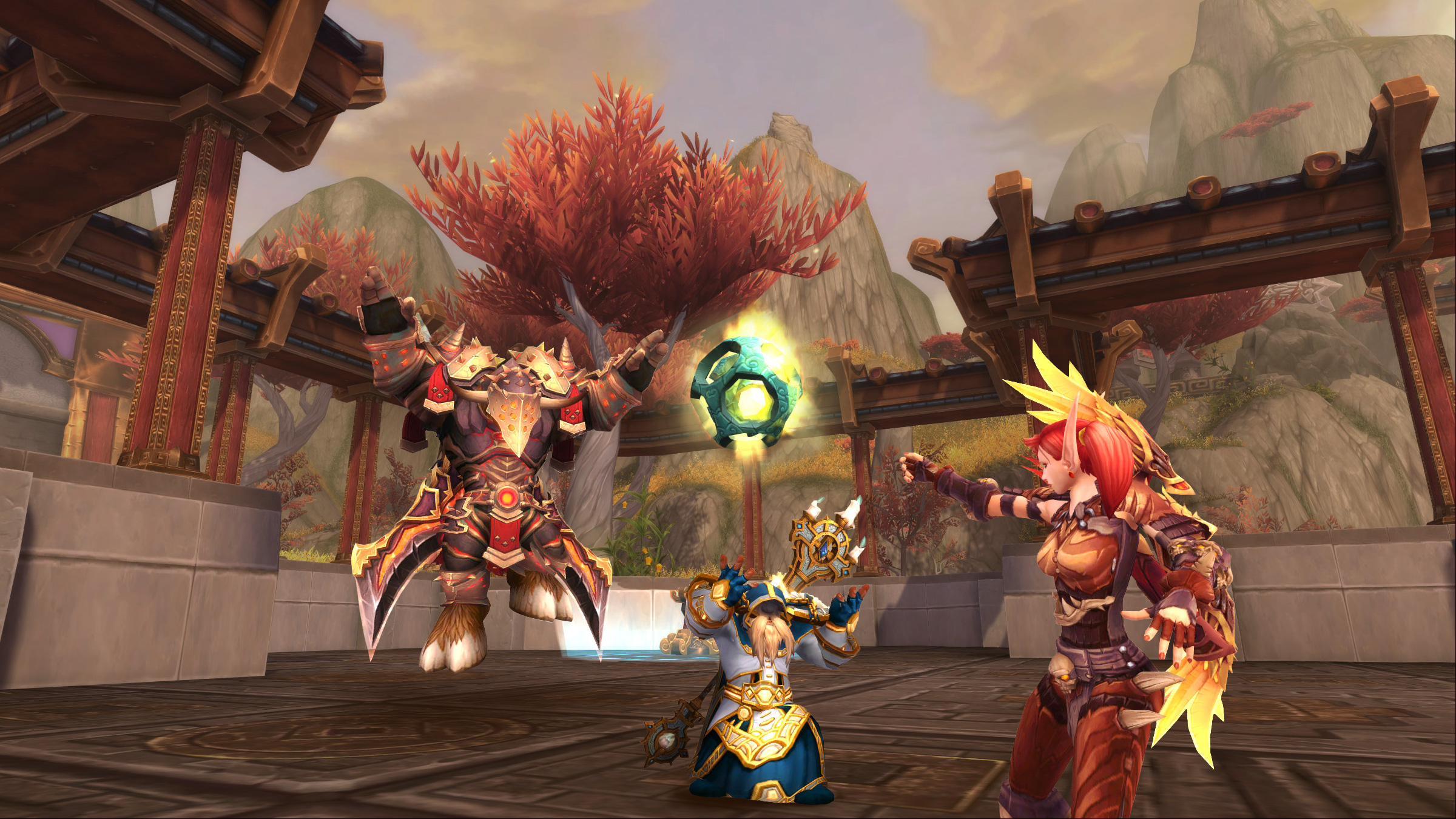 Shake Up the Battlegrounds with PvP Brawls: Temple of Hotmogu