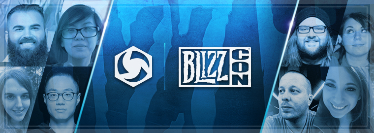 Heroes of the Storm Streamers at BlizzCon 2017