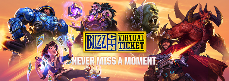 The BlizzCon® 2018 Celebration Kicks Off Early With the Virtual Ticket