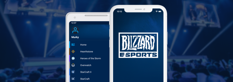 Ecco l'app mobile Blizzard eSport