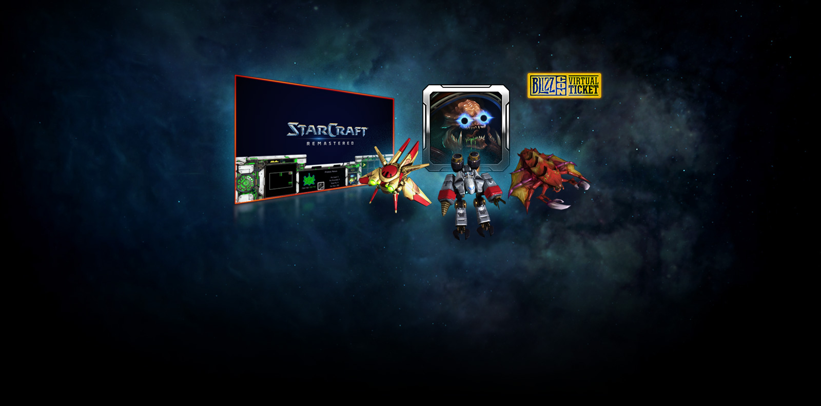 StarCraft BlizzCon In-Game Goodies Are Here